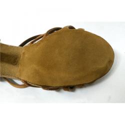 Reparación de zapatos para baile de salón.