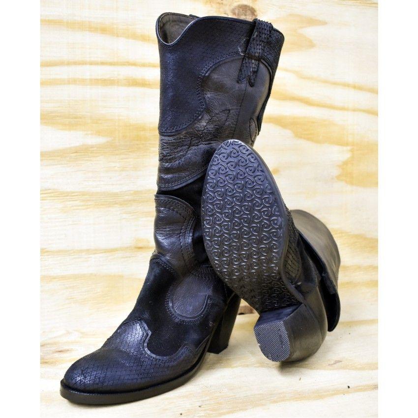 Reparar unas botas vaqueras